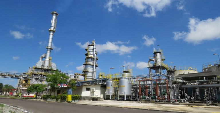 The Indonesian refinery