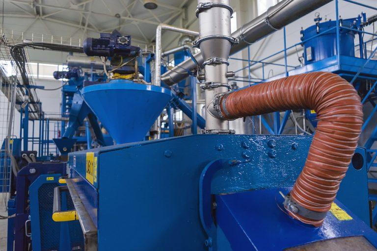 A biofuels plant