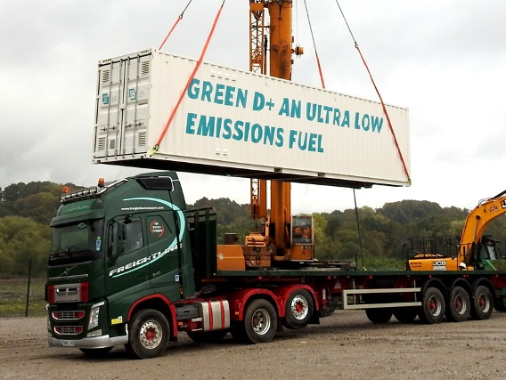 Green Fuels was selected