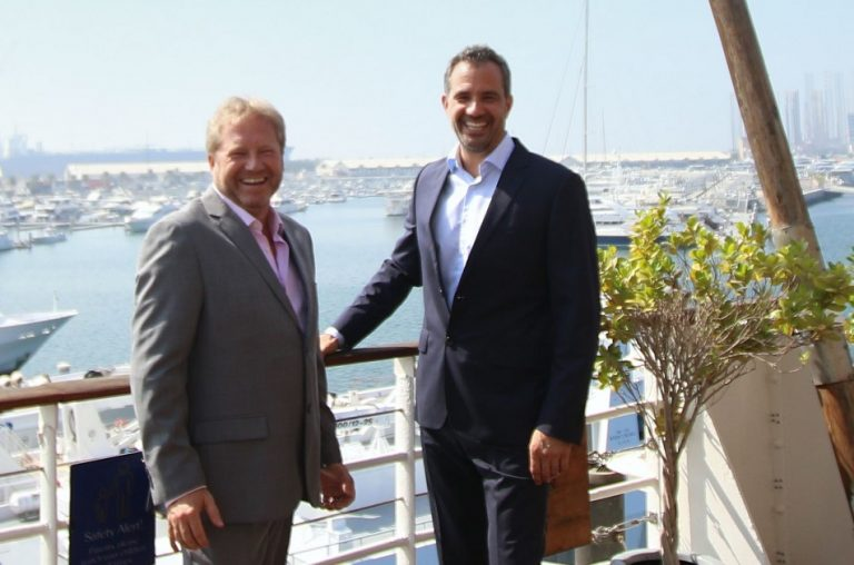 Gary Hubbard, of Neutral Fuels, and Lars Liebig