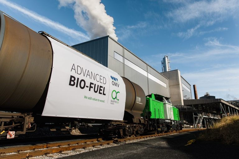 The first delivery of advanced bioethanol