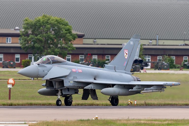 RAF Coningsby in Lincolnshire