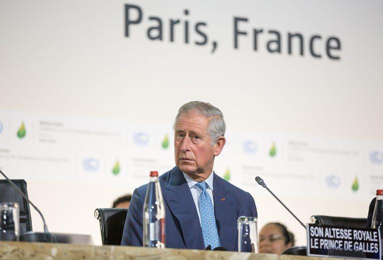 Prince Charles in Paris