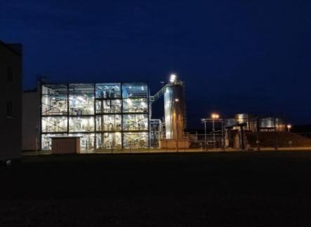 Ekobenz's facility in Bogumiłów, Poland Picture: Business Wire