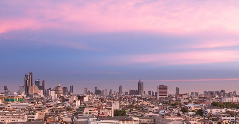 The capital Bangkok